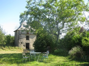 Garden and dovecote
