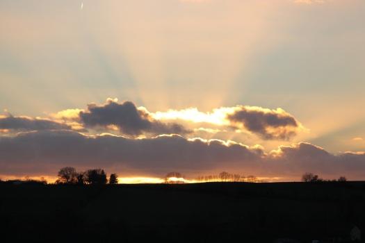 An Os Figueiros sunset