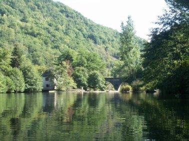 River at La Guarde Viaur